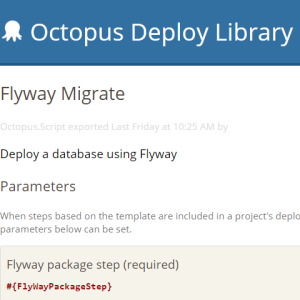FlywayMigrateSquare